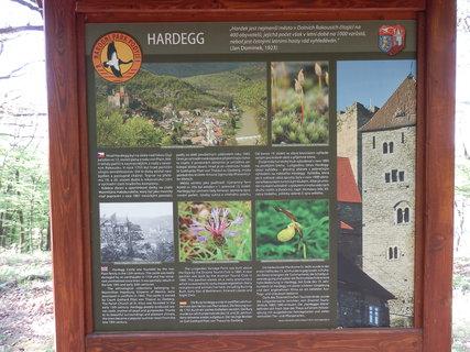 FOTKA - infotabule Hardegg, NP Podyjí