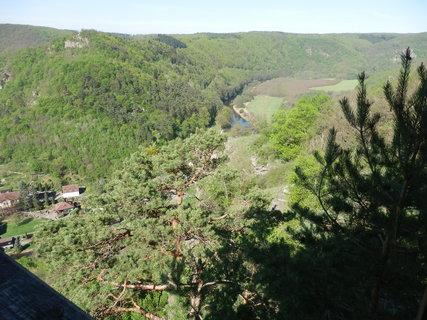 FOTKA - Dyje zde tvoří státní hranici