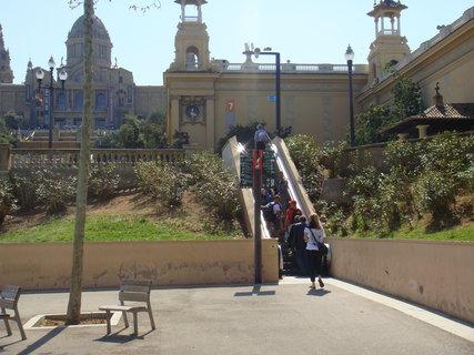 FOTKA - Eskalátor šetří turistům nohy