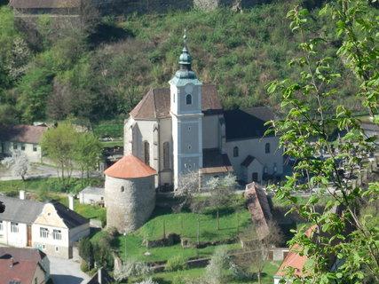 FOTKA - kostel v Hardeggu, Rakousko