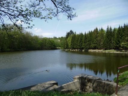 FOTKA - chovný rybník u hotelu