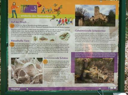 FOTKA - Thayatal, cestou ke zřícenině hradu Kaja (česky Chýje)