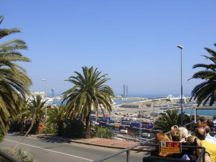 FOTKA - pohled na přístav v Barceloně.