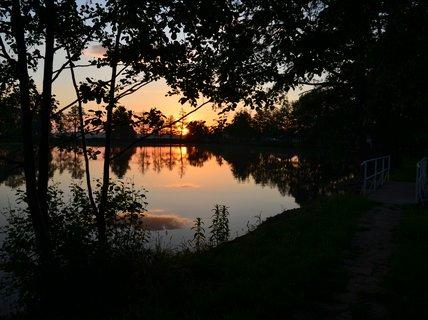 FOTKA - Svítání s lávkou