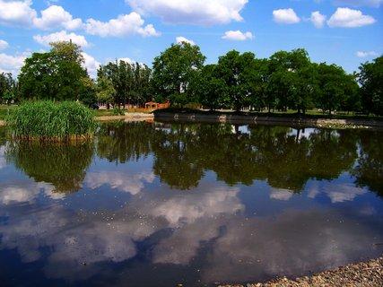 FOTKA - kunratický rybník Ohrada ...
