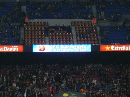 FOTKA - Sehnali jsme lístky na fotbal FC Barcelona - Athletic club
