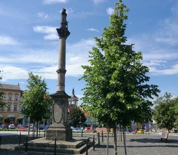 FOTKA - socha sv.Vavřince