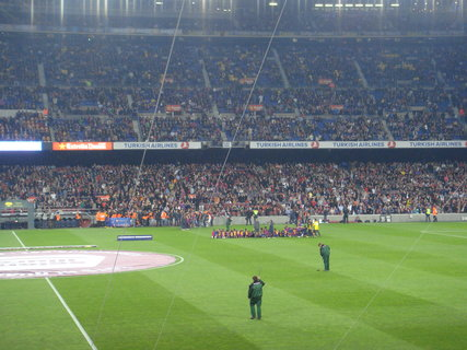 FOTKA - Kotel FC Barcelona.