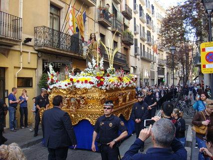FOTKA - Květná neděle (Domingo de Ramos ve španělštině) je jedním z nejvýznamnějších španělských křesťanských akcí.