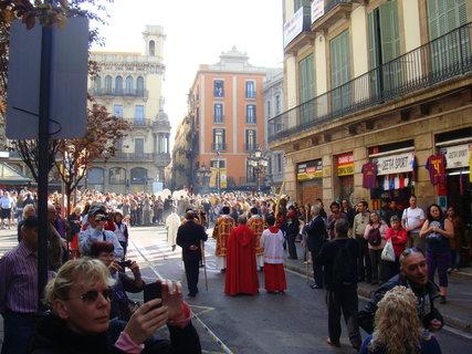 FOTKA - Květná neděle (Domingo de Ramos ve španělštině) je jedním z nejvýznamnějších španělských křesťanských akcí..