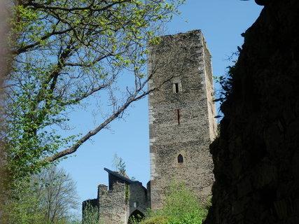 FOTKA - Kaya, zřícenina hradu , Rakousko