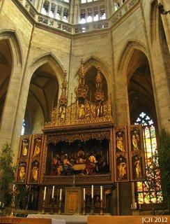 FOTKA - interier  Chrámu Svaté Barbory