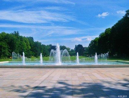 FOTKA - Poděbrady  -lázeňský park