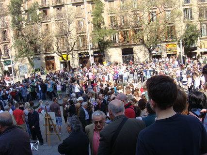 FOTKA - Květná neděle je v Barceloně velká událost