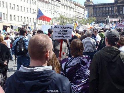 FOTKA - Postřehy ze stávky