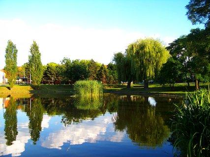FOTKA - 16.6.2012 podvečer u rybníka...