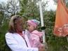 Iva s mamkou