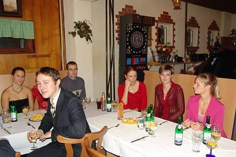 FOTKA - Miláček na maturitním večírku