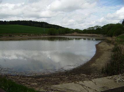 FOTKA - upuštěný rybník
