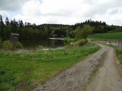 FOTKA - cesta u rybníka