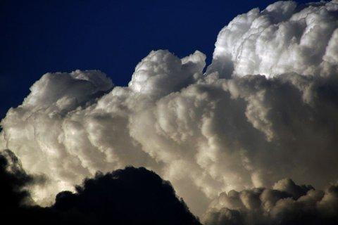 FOTKA - včerejší bouřkové mraky....