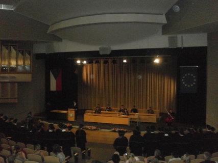 FOTKA - Proslov jednoho ze studentů