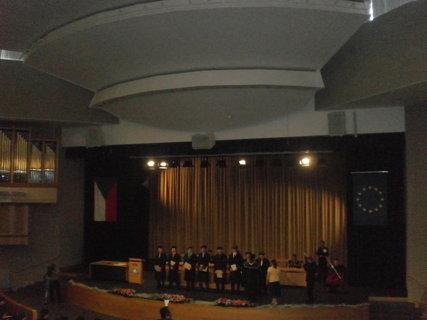 FOTKA - Předávání diplomů