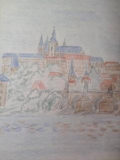 FOTKA - ze čtenářského deníku- obrázek Prahy