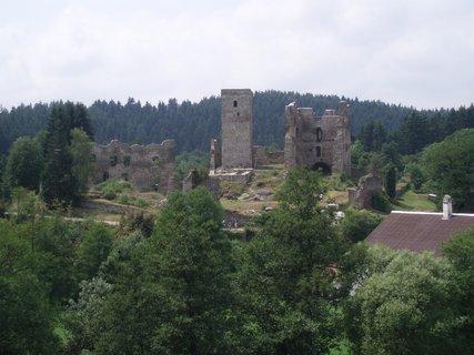 FOTKA - Zřícenina hradu Rokštejna