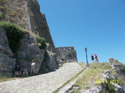 FOTKA - Albánie ..Skadar..pevnost..hrad Rozafa