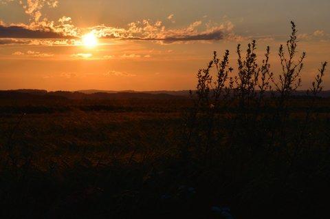 FOTKA - Červencový západ slunce