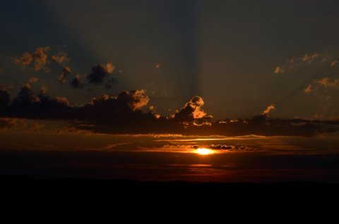 FOTKA - Letní západ slunce