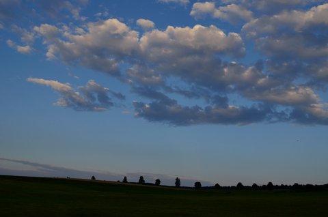 FOTKA - Večerní krajinka