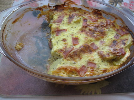 FOTKA - Zapečený patizon s bramborem