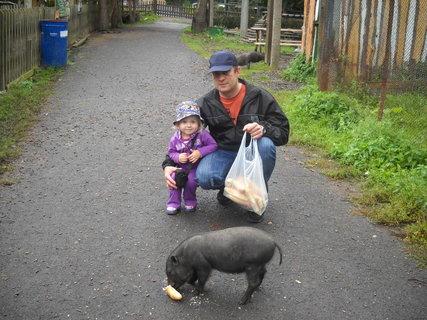 FOTKA - Vnučka s taťínkem