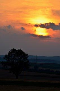 FOTKA - Prázdninový západ slunce