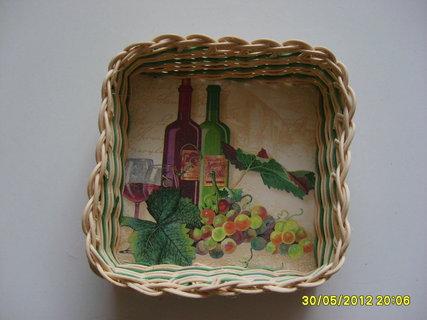 FOTKA - košík víno