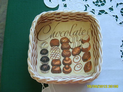 FOTKA - košík čokoláda