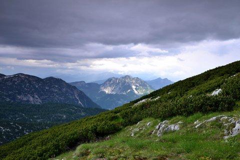 FOTKA - Soumrak nad Dachsteinem