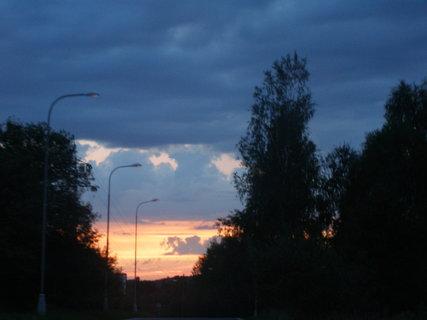 FOTKA - večerní cesta ,,