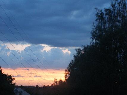FOTKA - . večerní cesta