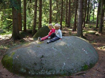 FOTKA - relaxace na kameni