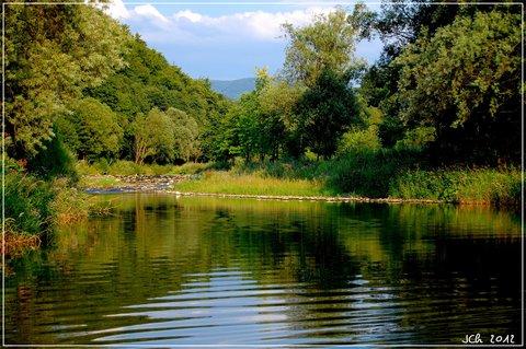 FOTKA - řeka Morávka