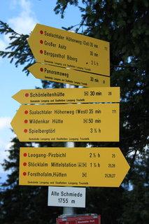 FOTKA - Rodinné putování ze Saalbach Hinterglemm do Leogangu 42