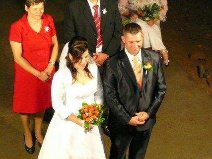 FOTKA - Svatba ve Sloupsko-šošůvské jeskyni
