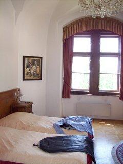 FOTKA - hotelový pokoj na zámku Hluboká