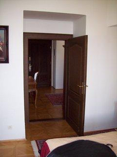 FOTKA - hotelový pokoj na zámku Hluboká.