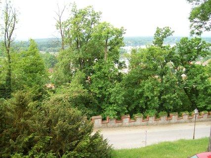 FOTKA - pohled z okna hotelu.