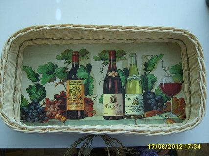 FOTKA - košíček na lahve vína