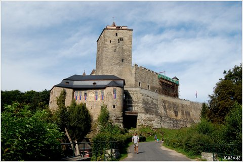 FOTKA - hrad Kost  - pohled 2